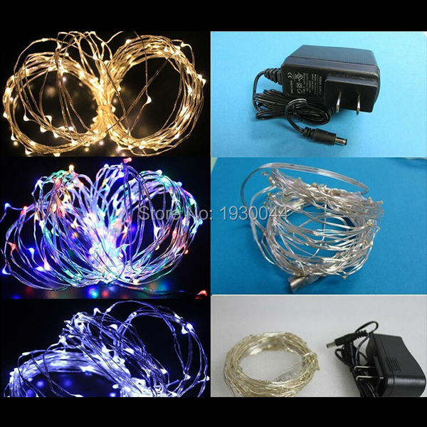 6m 120 LED Copper Wire string lights LED Fairy Lights for Outdoor ...