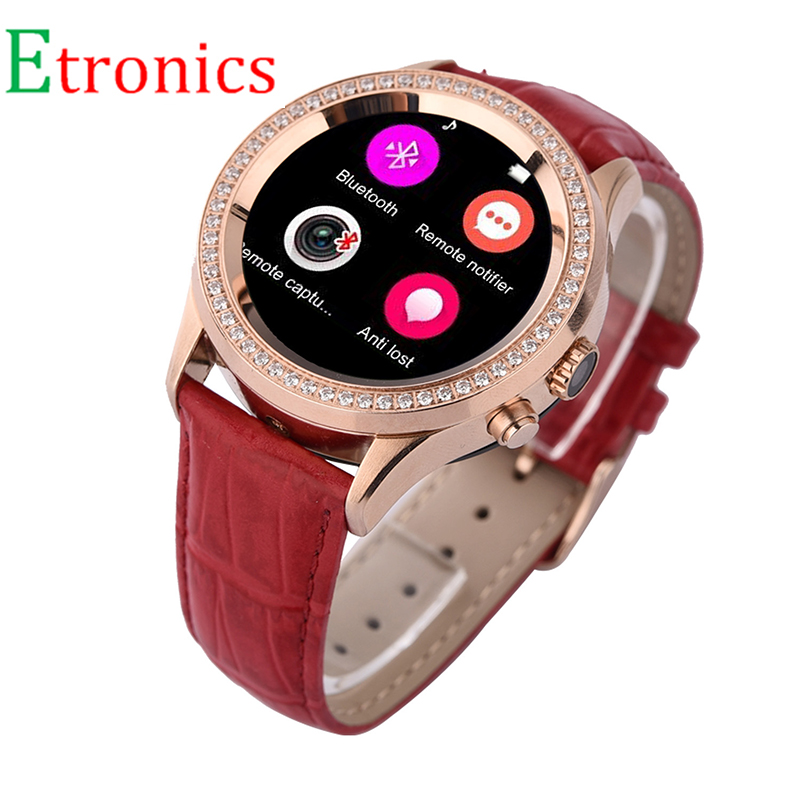 Free Shipping Smart watch diamond round no 1 D2 font b smartwatch b font Heart Rate