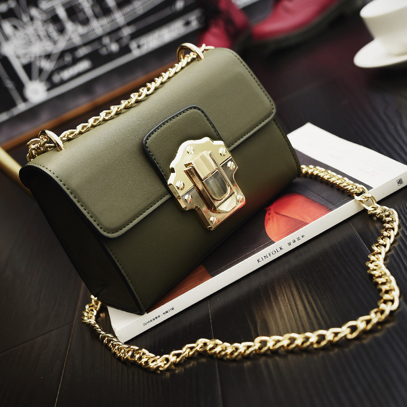 Fashion chain messenger bag female  all-match bag one shoulder chain small bagFashion chain messenger bag female  all-match bag one shoulder chain small bag