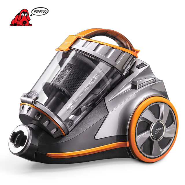 Charming PUPPYOO Home Canister Vacuum Cleaner Large Suction Capacity Powerful  Aspirator Multifunctional Cleaning Appliances WP9005B