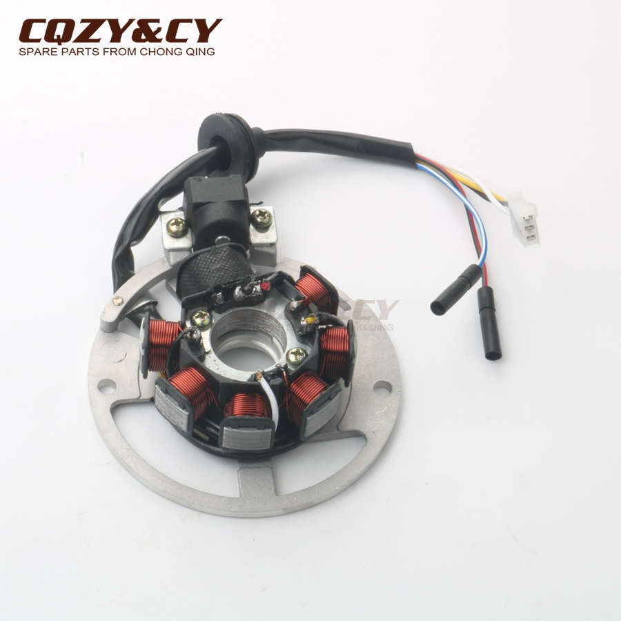 medium resolution of scooter ignition stator 7 coils for yamaha why 50 98 02 neo s 97