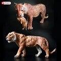 Диких Животных Пластиковые Тигра Фигурки Статическая Модель Игрушки Обучения Развивающие Игрушки для Детей Подарок