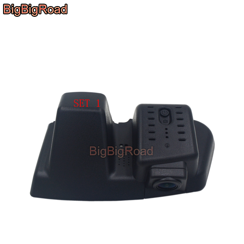 BigBigRoad For Ford Edge 2015 2016 2017 2018 Car wifi DVR Driving Video Recorder front camera Car black box Dash Cam FHD 1080P bigbigroad for haval h6 coupe 2015 car wifi dvr video recorder front camera car black box night vision keep car original style