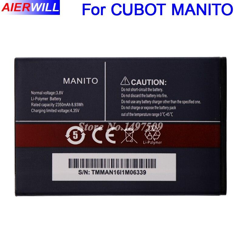 Für CUBOT MANITO Batterie Batterie Bateria Batterie-akkumulator 2350 mAh