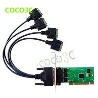 IOC845 PCI 4 porte Serial scheda PCI Multi RS232 DB9 porta COM a PCI adapter Scheda IO con basso profilo staffa