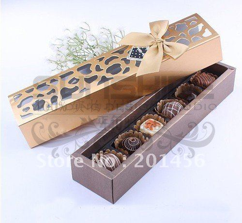 Aliexpress.com : Buy Chocolate box, gift box, CP6 G ...