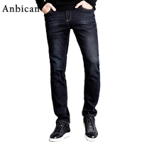 Anbican High Quality Autumn Winter Men Jeans Pants Long Stretch Brand New Skinny Jeans Men Slim