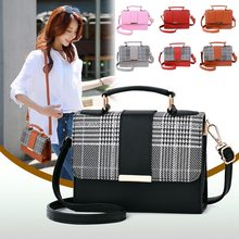 Women Bag Leather Handbags PU Shoulder Small Flap Crossbody Bags for Women Messenger(China)