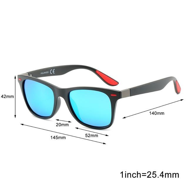 2019 Fashion Brand Polarized Sunglasses Men's  Driving Goggles Sun Glasses For Women&Men Square Full Frame Men's Glasses UV400