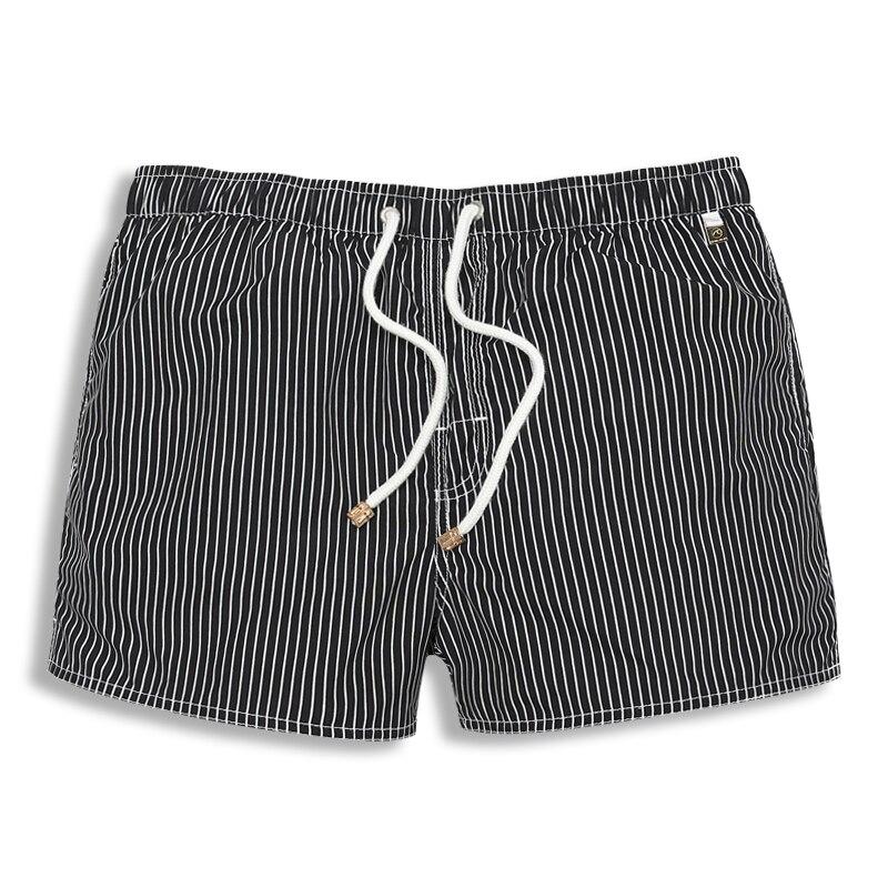 Summer Board shorts praia Mens Red striped gym mesh bermuda masculina Mens Sports Short Beach Shorts for Men swimwear liner