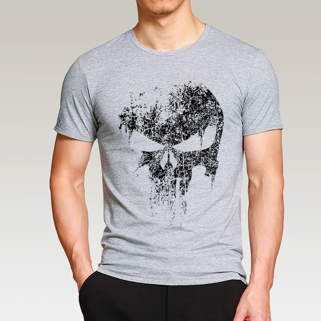 T-shirt Homme Tête de Mort 5