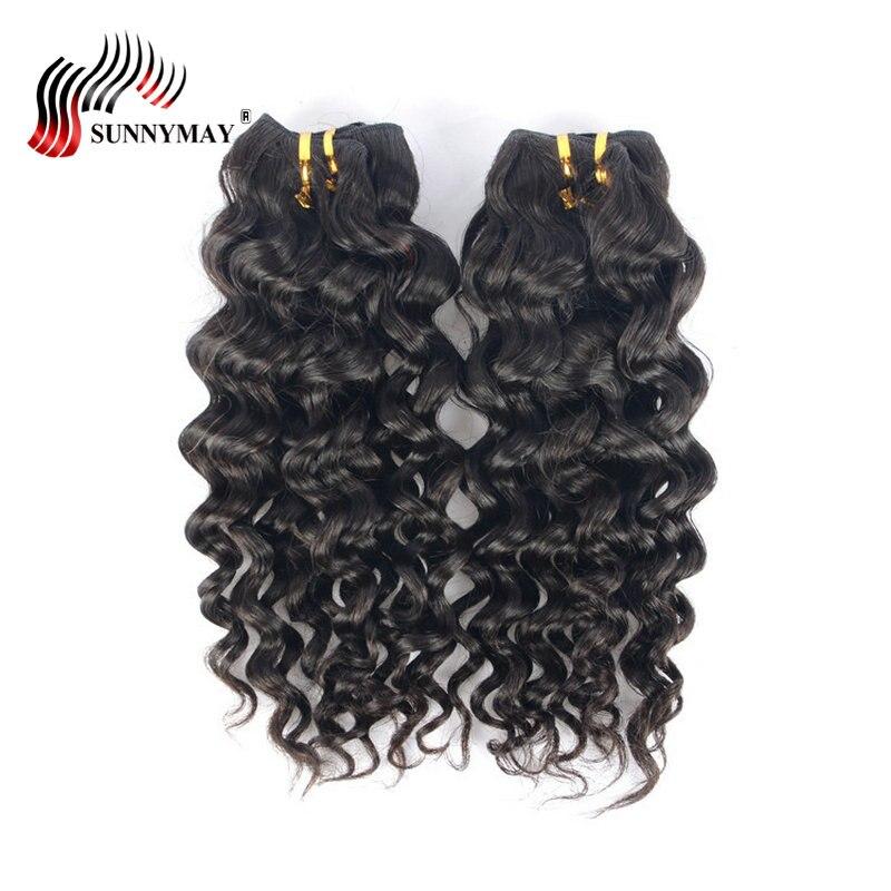 Sunnymay Malaysian Virgin Hair Loose Deep Wave Wet And Wavy Human Hair 3 Bundle Deals Beauty