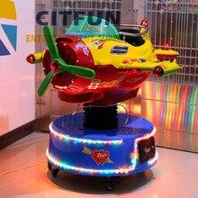 Новинка! дизайн! Детский Воздушный самолет, интерактивный звук и RGB светодиодный торговый автомат CIT-KR006D
