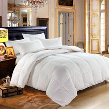 Bidekanu Brand 100% Duck Down Feather Winter White Quilt Comforter Duvet With Cotton Cover 233TC Cut Through Free Shipping