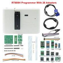 RT809H памяти на носителе EMMC-программирование Nand Flash+ 26 Адаптеры+ TSOP56 TSOP48 SOP8 TSOP28 адаптер+ SOP8 Тесты зажим с кабели памяти на носителе EMMC-Nand