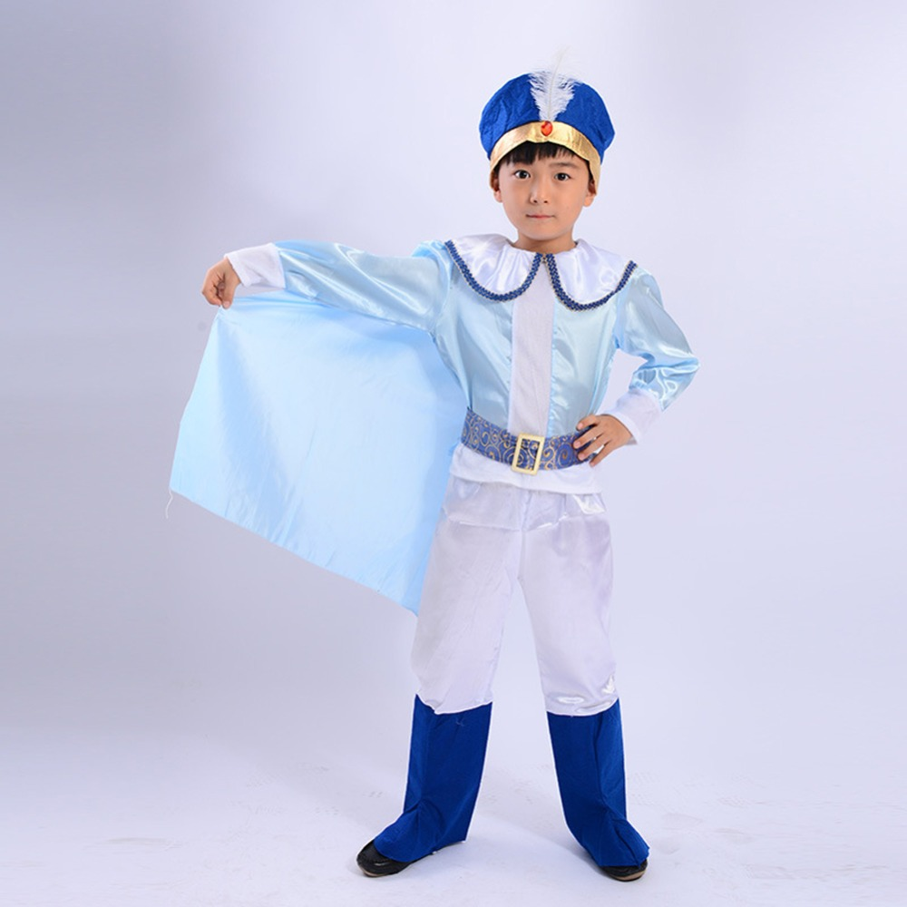 4pcs Childrens Arab Prince Outfits Kids Costume for Alladin Fairy tale Fancy Dress4pcs Childrens Arab Prince Outfits Kids Costume for Alladin Fairy tale Fancy Dress