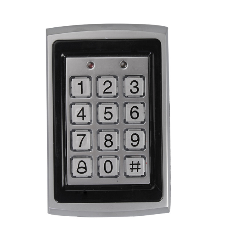 NEW Proximity RFID Card Door Lock Entry Access Control System with 10 ID Keyfobs Tag Card Home Safely Security купить