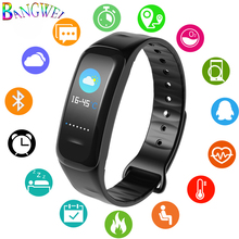 LIGE2019 Newest Smart Bracelet Men Fitness Tracker Pedometer Sport Wristband Blood Pressure Heart Rate Monitor Women Watch