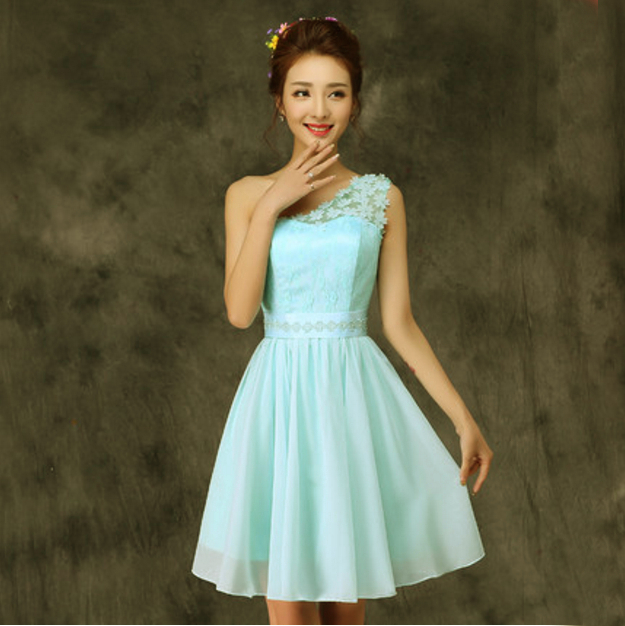 Compare Prices on Semi Formal Dresses Light Blue- Online Shopping ...