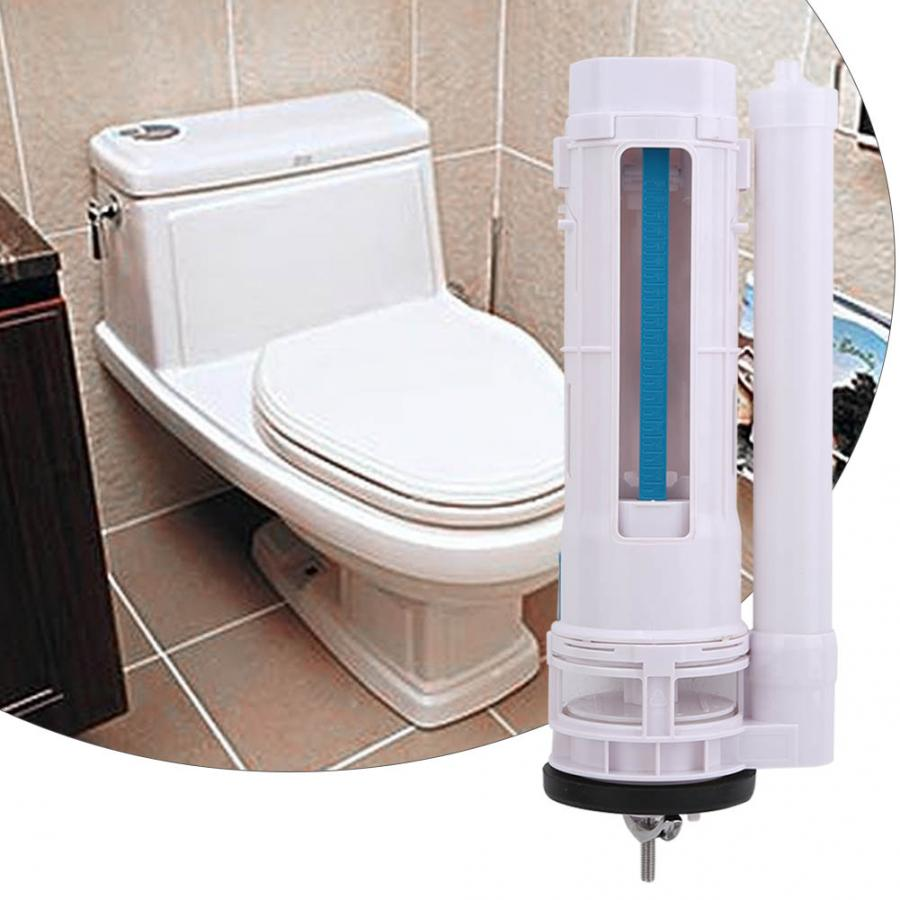 Toilet Push Button Filling Valves Dual Flush Valve Cistern Syphon One-Piece Toilet Part G1/2 Bathroom Accessories