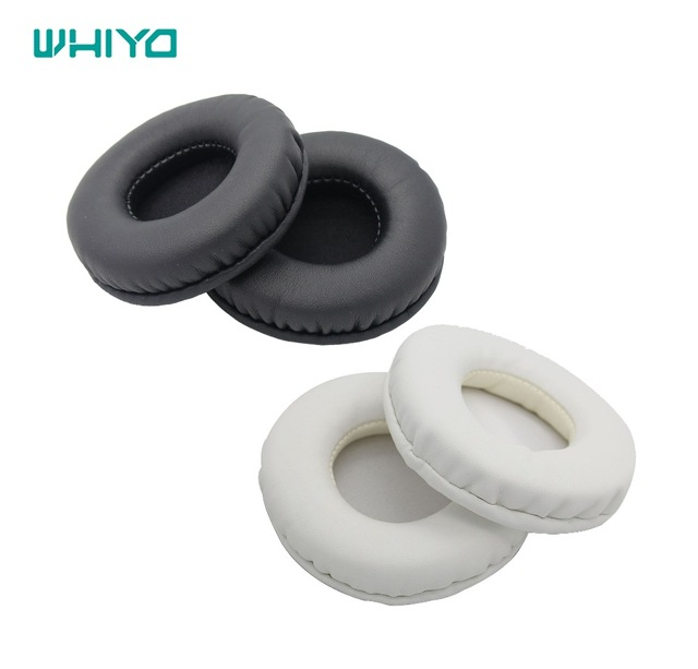 Whiyo 1 Pair of Ear Pads Cushion Cover Earpads Replacement for Philips SHO7205 <font><b>Sony</b></font> <font><b>MDR</b></font>-<font><b>ZX660</b></font> <font><b>MDR</b></font>-ZX600 Headset <font><b>MDR</b></font> <font><b>ZX660</b></font> ZX600 image