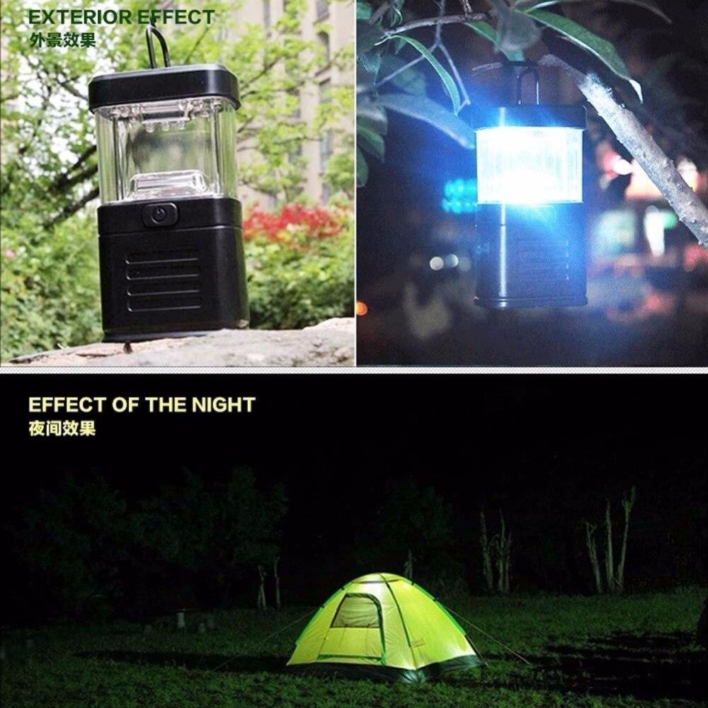 Portable 11LED Bivouac Camping Hiking Tent Lantern Fishing Hanging Light Lamp