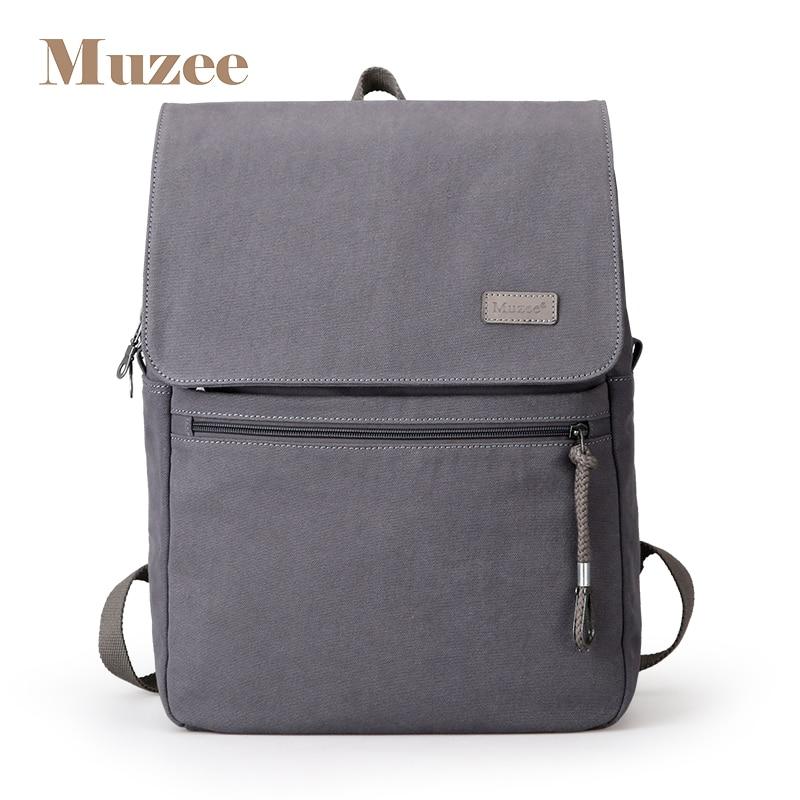 93ef0144b4f0 2019 Muzee Новый студенческий рюкзак мужской школьный рюкзак для мужчин и  женщин костюм для 15,