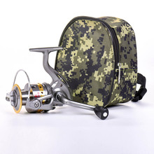 Fishing Reel Rod Packet Storage Bag Tackle Pouch Outdoor Sports Bag Camouflage Outdoor Mini Portable Pocket fishing tackle bag