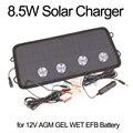 12V 8 5 W Солнечная Панель зарядное устройство для мотоцикла  скутера  автомобиля  18V солнечная батарея зарядное устройство для автомобиля  бат...