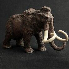 4 סגנון גן חיות בעלי החיים פעולה פיל צעצוע דמויות יצור הפרהיסטורי ממותה מודלים פעולה באיכות גבוהה חינוך חמוד צעצועי מתנה