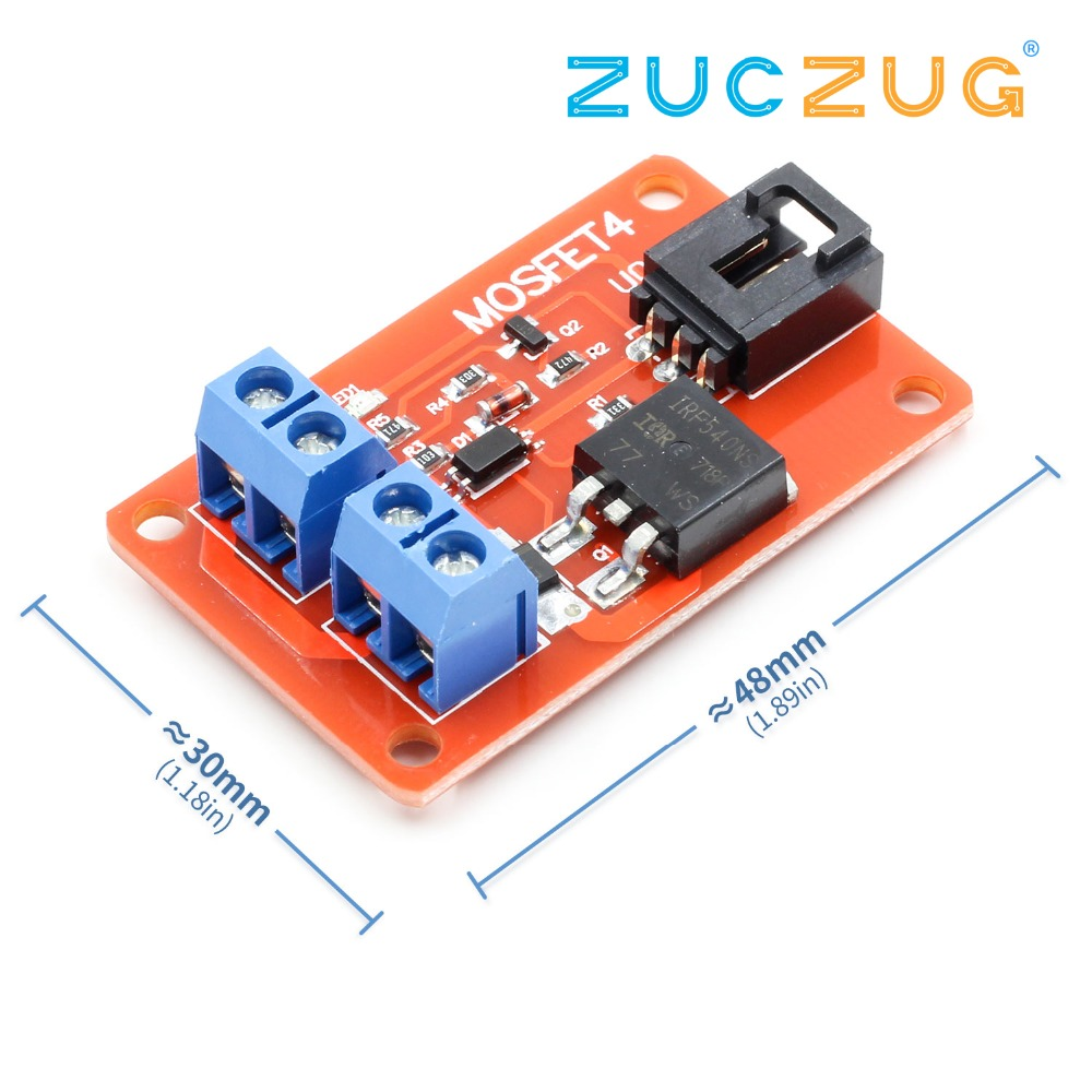 33 50v Rgb Led Light Modulator Programmable Pwm Controller For Driver Module Power Sources Mosfet 1 Channel Route Button Irf540 Switch Arduino