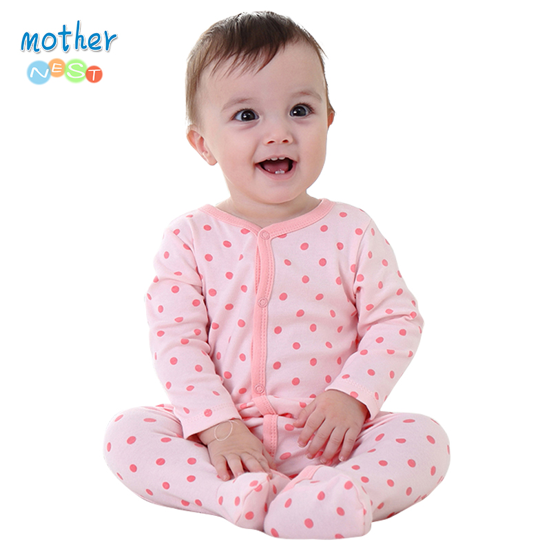 Mother Nest Baby Rompers Children Autumn Clothing Set Newborn Baby Clothes Cotton Baby Rompers Long Sleeve Baby Girl Clothing strip baby rompers long sleeve baby boy clothing jumpsuits children autumn clothing set newborn baby clothes cotton baby rompers