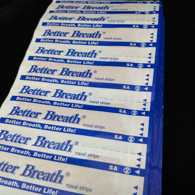 200 pcs/lot Better breath Breathe Right Nasal Strips Anti Snoring Strips Sleep & Snoring Nasal Strips Sleep Better Health Care