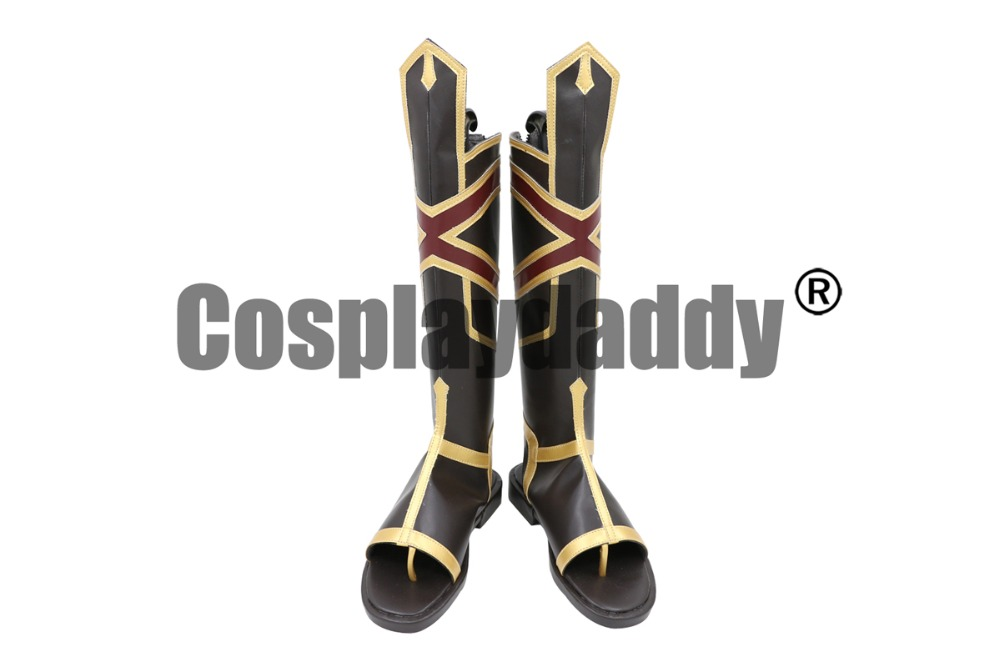 Fate Grand Order Rider Alexander the Great King of Conquerors Heroic Spirit Cosplay Shoes Boots C006