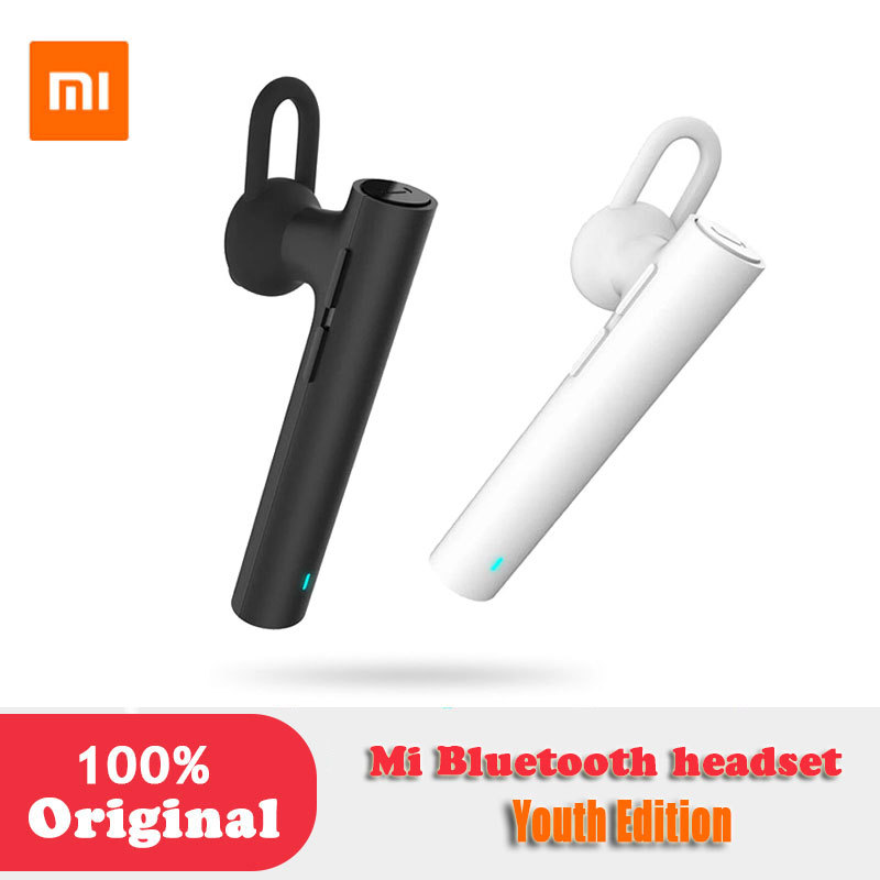 Xiaomi Original Mi Bluetooth Headset Youth Edition Earphones Handsfree For Iphone Samsung Lg Android Phone Wind Noise Canceling Earphone Handsfree Mi Bluetooth Headsetbluetooth Headset Aliexpress