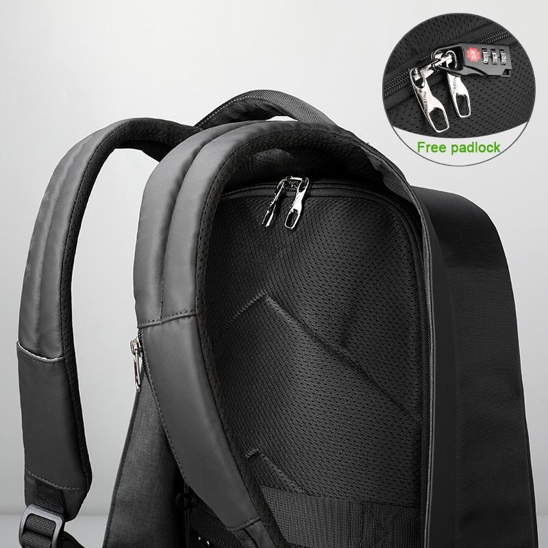Tigernu Étanche Anti Vol Hommes Sacs À Dos de 15.6 pouces Ordinateur Portable Portable sac à dos usb pour Adolescente Femmes mochila mâle - 4