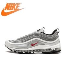 promo code 634fc 503b9 Chaussures de course respirantes officielles Nike Air Max 97 OG QS pour  femmes Sports de plein