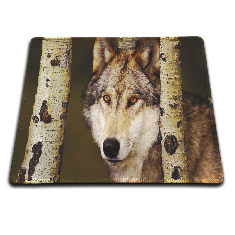 MaiYaCa New Wolf wallpaper Mouse Mat Zebras Pad to Mouse Notebook Computer Mousepad Boy Gift Gaming Optical Mouse Pad