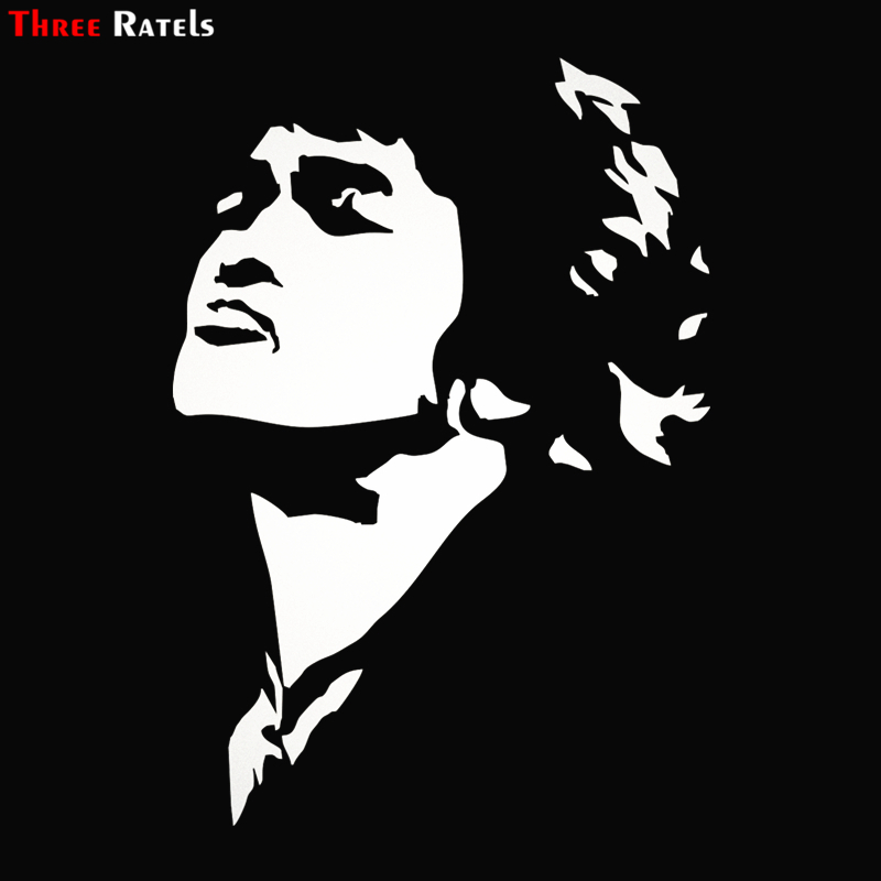 Three Ratels TZ-1279 21.4*15cm 1-4 Pieces Victor Tsoi Car Sticker Funny Car Stickers Decals
