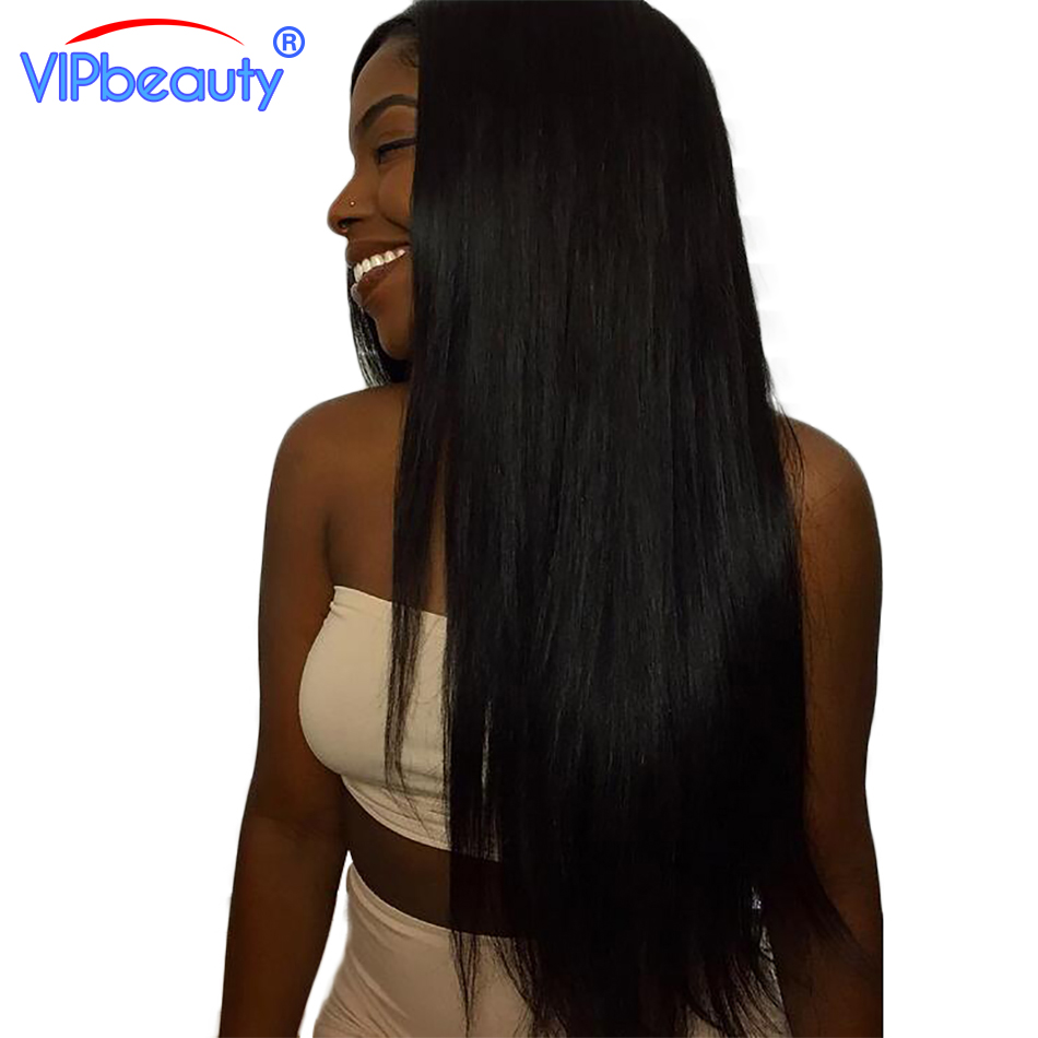 VIP beauty Brazilian straight hair 100% human hair weave bundles 1pcs only non remy hair extension can buy 3 bundles or more