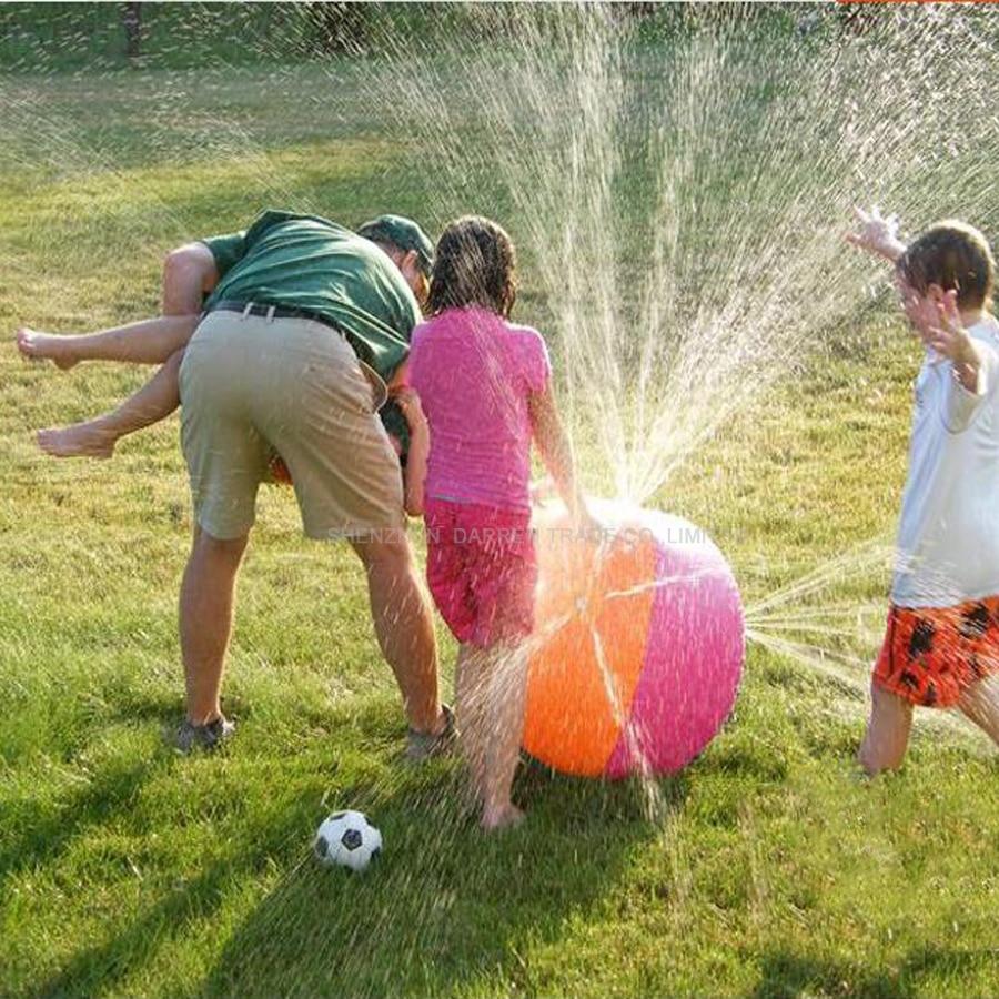 น้ำลูกบอลชายหาดลูกว่ายน้ำกลางแจ้งสนามหญ้าเล่นบอลลูกบอลน้ำทำให้พองพีวีซี meterial สำหรับเด็ก