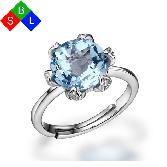 Inexpensive Wedding Rings.Aliexpress Com Buy Inexpensive Wedding Rings 925 Sterling Silver Fine Jewelry With Natural Gemstone Topaz Rose Quartz Adjustable Size Fit 5 7