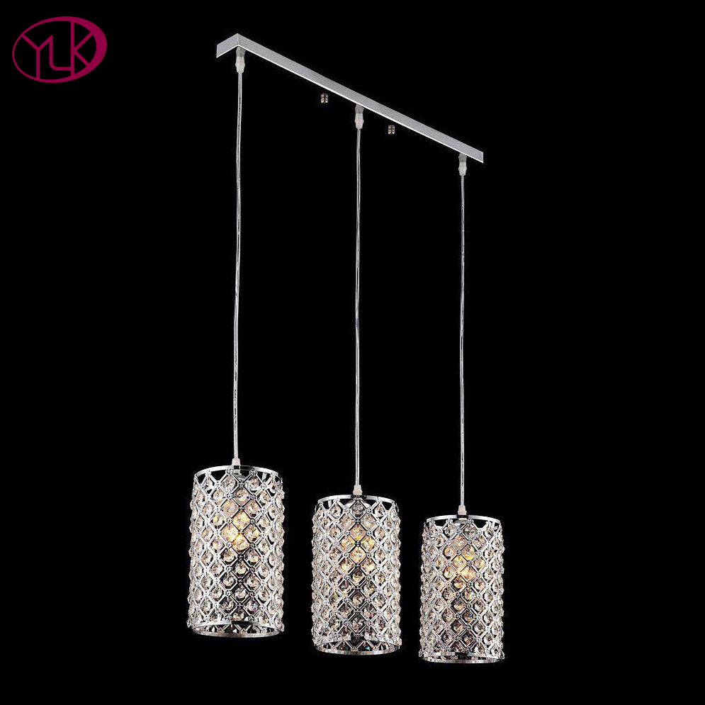 Free Shipping Modern Brief 3-lights Crystal Pendant Light Lustres E Pendente For Dining Room E27 Lamps Pendant For The Kitchen battlefield 3 или modern warfare 3 что