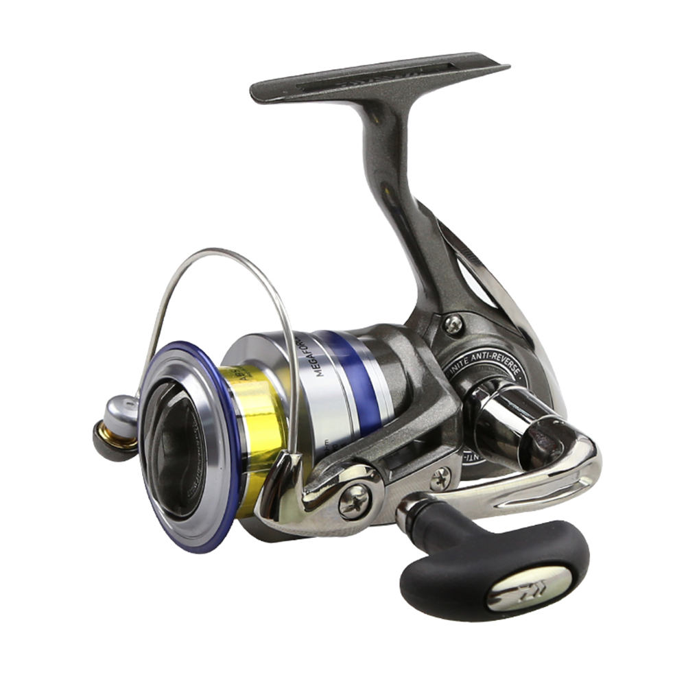 DAIWA Spinning Fishing Reel Left Right Interchangeable Handle Spinning Reel with Extra Spool Spinning Fishing Reel