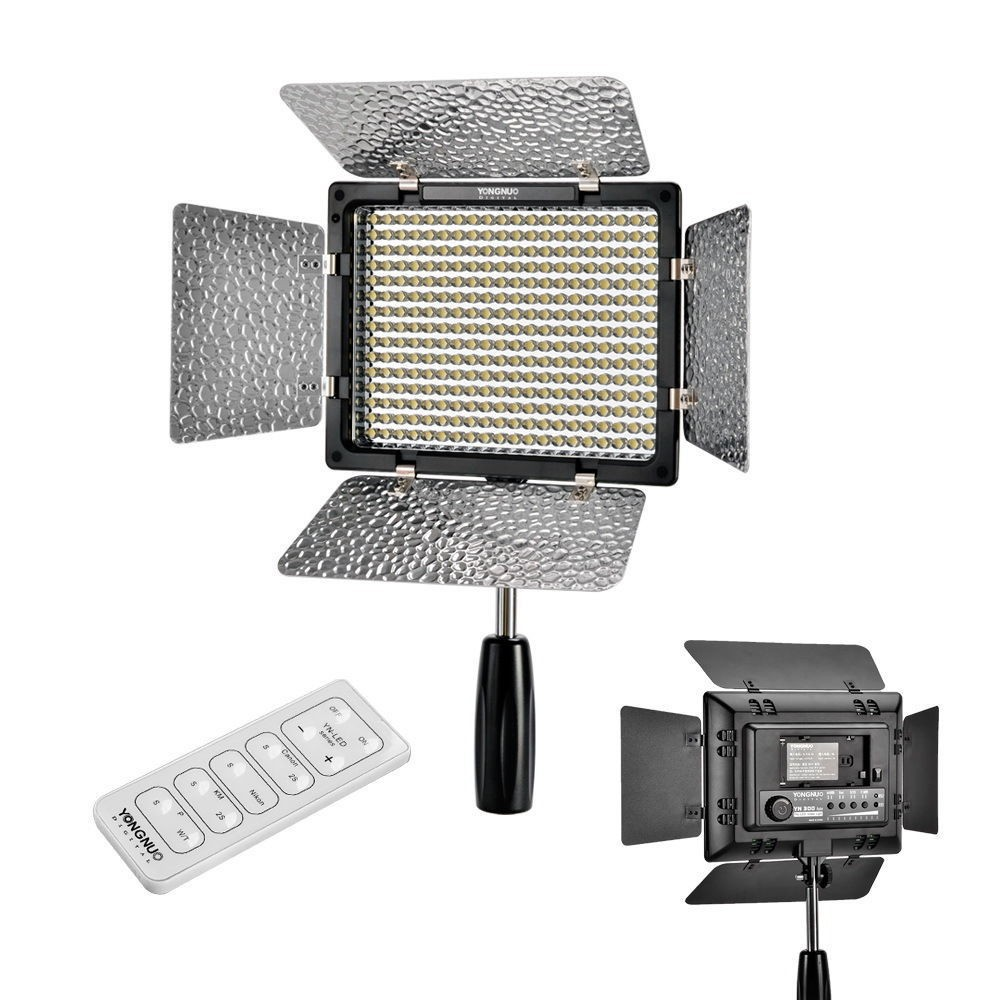 Yongnuo YN300 II YN-300 ll Pro LED Video Light Lighting with Remote Control for Canon Nikon Camera Camcorder