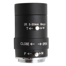 CCTV 보안 카메라 5 50mm Varifocal 렌즈 수동 줌 CS 마운트 렌즈 USB 카메라