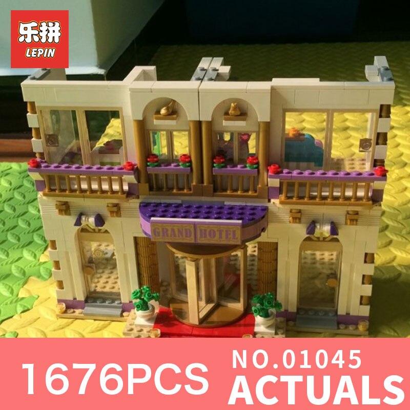 New LEPIN 01045 1676pcs GIRL SERIES amusement park games Educational Building Blocks Bricks Toys GriL Toy 41101