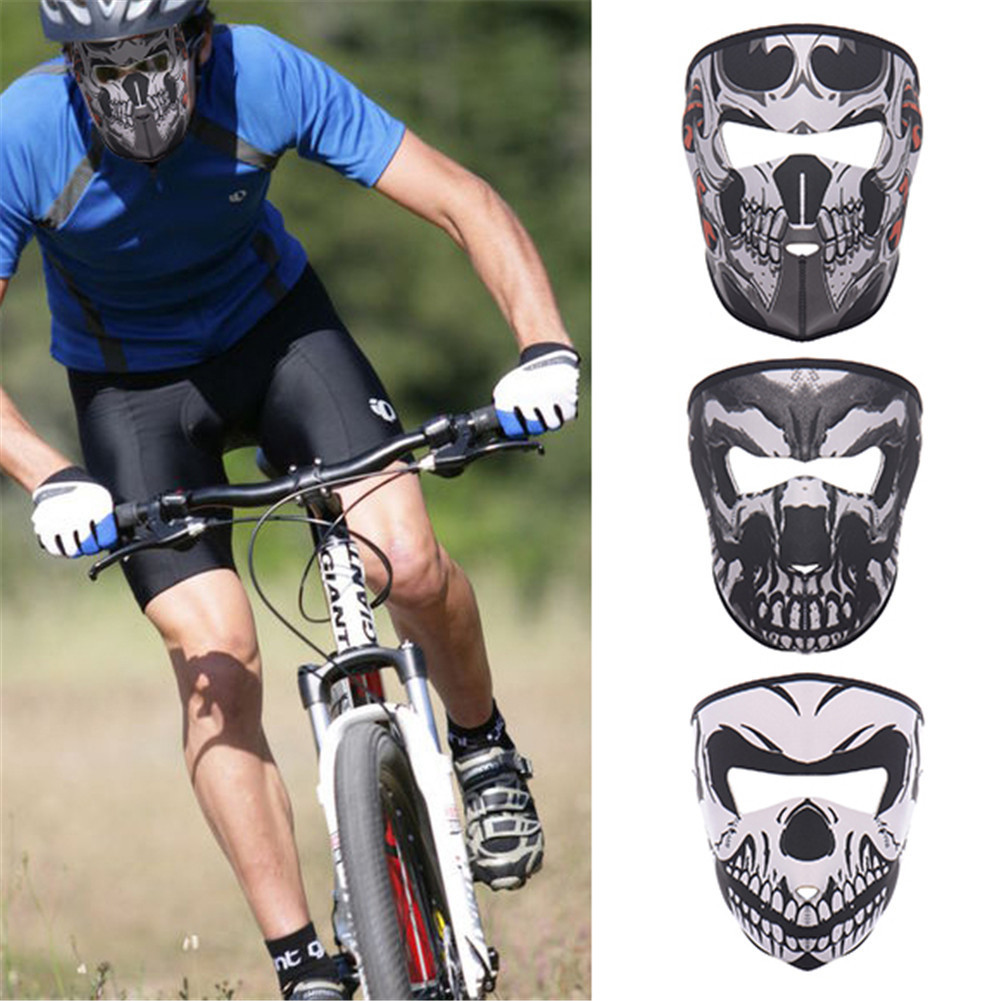 3D Outdoor Sports Mask Skull Cycling Bike Bicycle Riding Face Mask Scarf Scarves Bandana Magic Headband Protect Face Mask