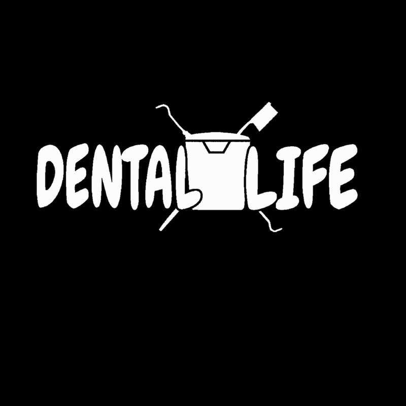 طبيب صائق سيارة الأسنان ملصق Muurstickers ملصق الفينيل الفن صور مطبوعة للحوائط Pegatina كوادرو Parede ديكور جدارية الأسنان ملصقا