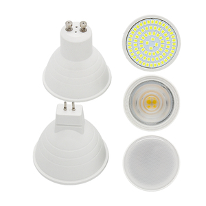 1PCS High Brightnees 2w 3w 4w 5w 7w GU10 MR16 Lamparas LED Spotlight AC 220V 230V SMD 2835 Bombillas Led Lamp Spot Luz